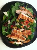 A FITmama lunch grill chicken on Sunday and throw it in a salad or soup during the week! One of my go-to quick lunches