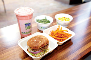 Get the burger and fries without the guilt at Energy Kitchen