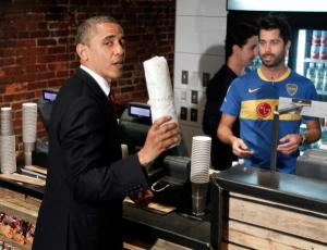 Taylor Gourmet: Prez Obama approved!