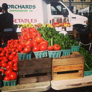tomatoes cucumbers